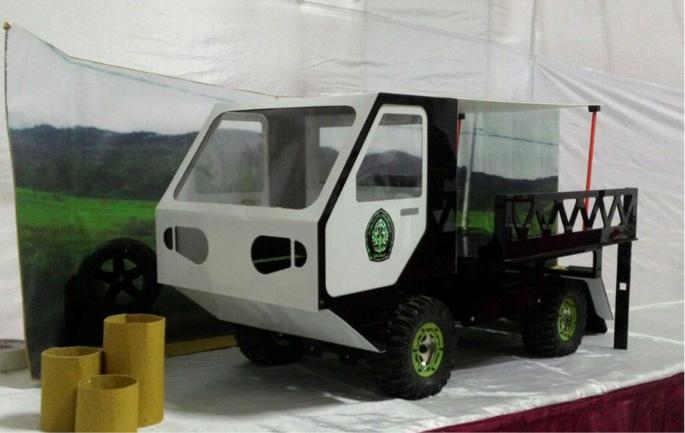 Mahasiswa Mesin UNDIP Juara III Lomba Desain Mobil Pedesaan Kemenperin