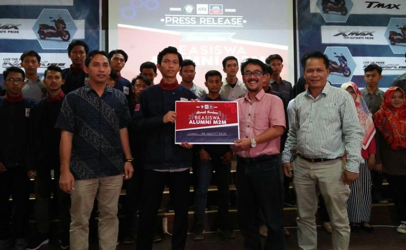 """Alumni Teknik Mesin Undip Meluncurkan """"Beasiswa Alumni M2M"""""""
