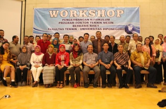 Workshop Kurikulum Prodi Doktor Teknik Mesin